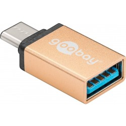 Adaptateur USB-C™ vers usb 3.0 type A Gold