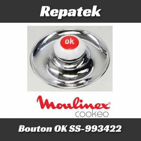 Bouton Ok Cuiseur Cookeo CE70 SS-993422