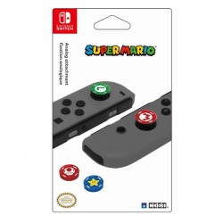 Pack de 4 Caps en silicone pour Joy-Con Nintendo Switch - Super Mario