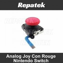Nintendo Switch Joystick 3D Bouton Analogique Rouge
