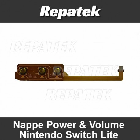 Nappe boutons power & volume Nintendo Switch Lite