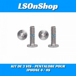 KIT DE 2 VIS - PENTALOBE POUR IPHONE 4 / 4S
