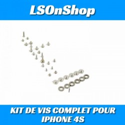 KIT DE VIS COMPLET POUR IPHONE 4S