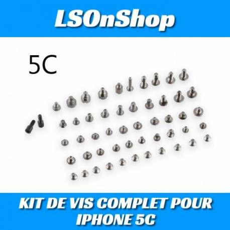 KIT DE VIS COMPLET POUR IPHONE 5C