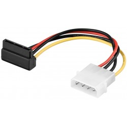 Câble molex - SATA Standard male 90°