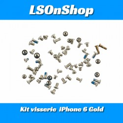 KIT DE VIS COMPLET POUR IPHONE 6/6s GOLD