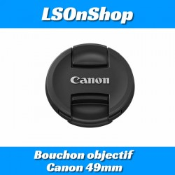 Bouchon objectif Canon 49mm